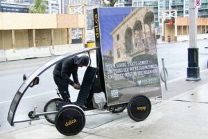 Eco-Friendly Adbikes & Bicycle Billboards