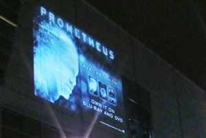Mobile Video Wall Projections