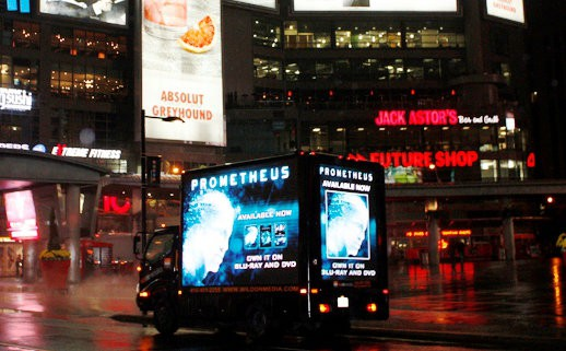 prometheus dundas sq night