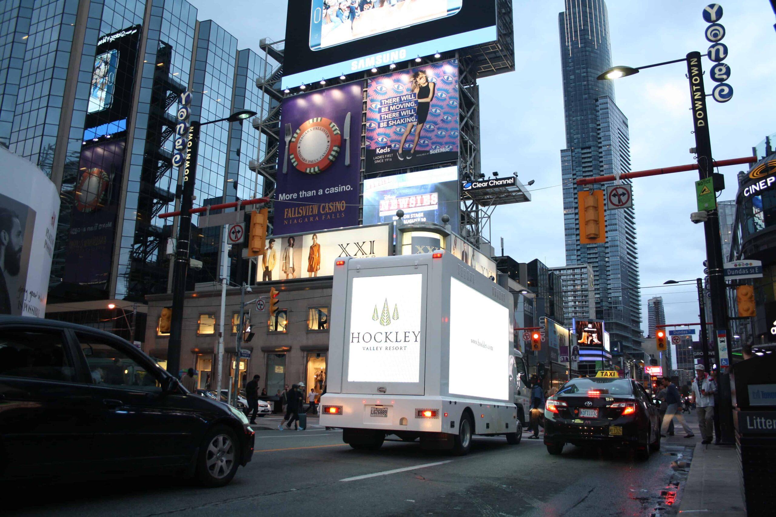 Digital Ad Truck: Hockley Valley Resort