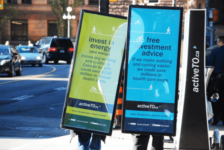 Walking Billboards: City of Toronto – Public Health