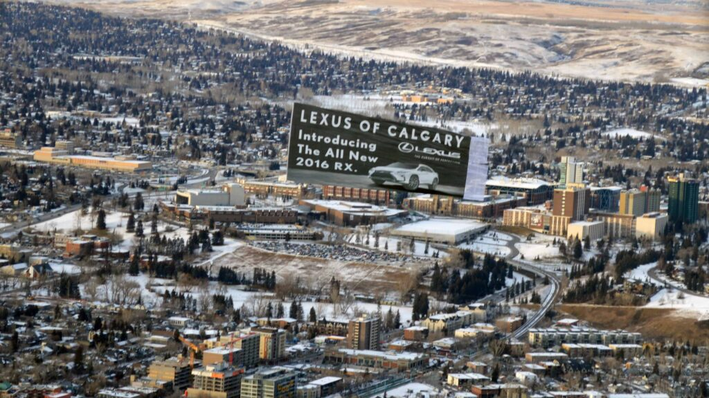 2015-11-20-Calgary-Canada-Lexus-Helicopter-Skytaculair-Banner-Job-52