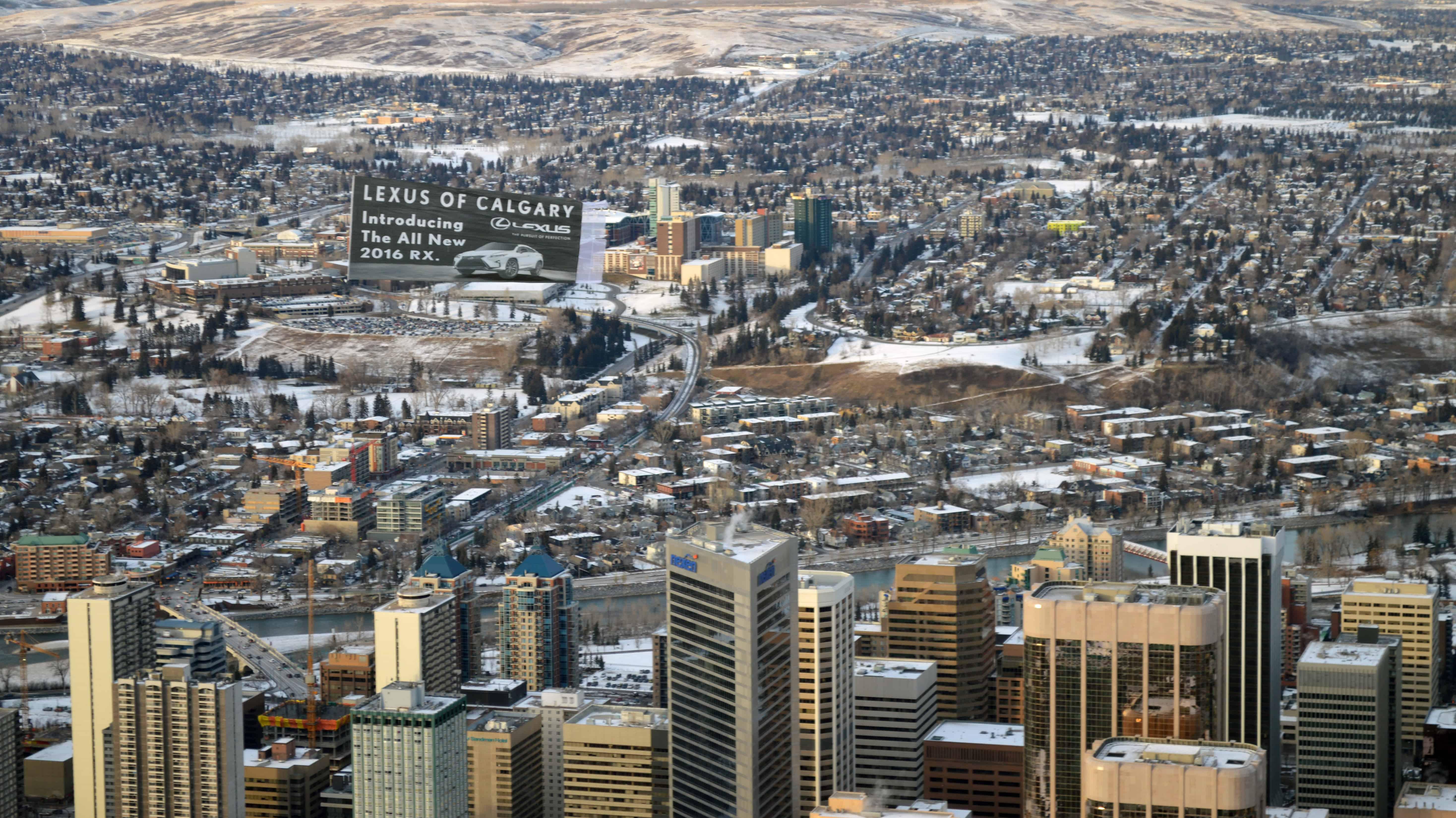 2015-11-20-Calgary-Canada-Lexus-Helicopter-Skytaculair-Banner-Job-53