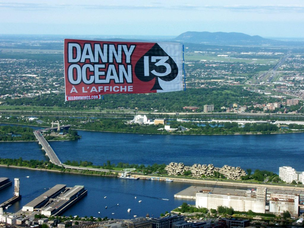 Aerial Advertising: Warner Bros – Ocean's 13