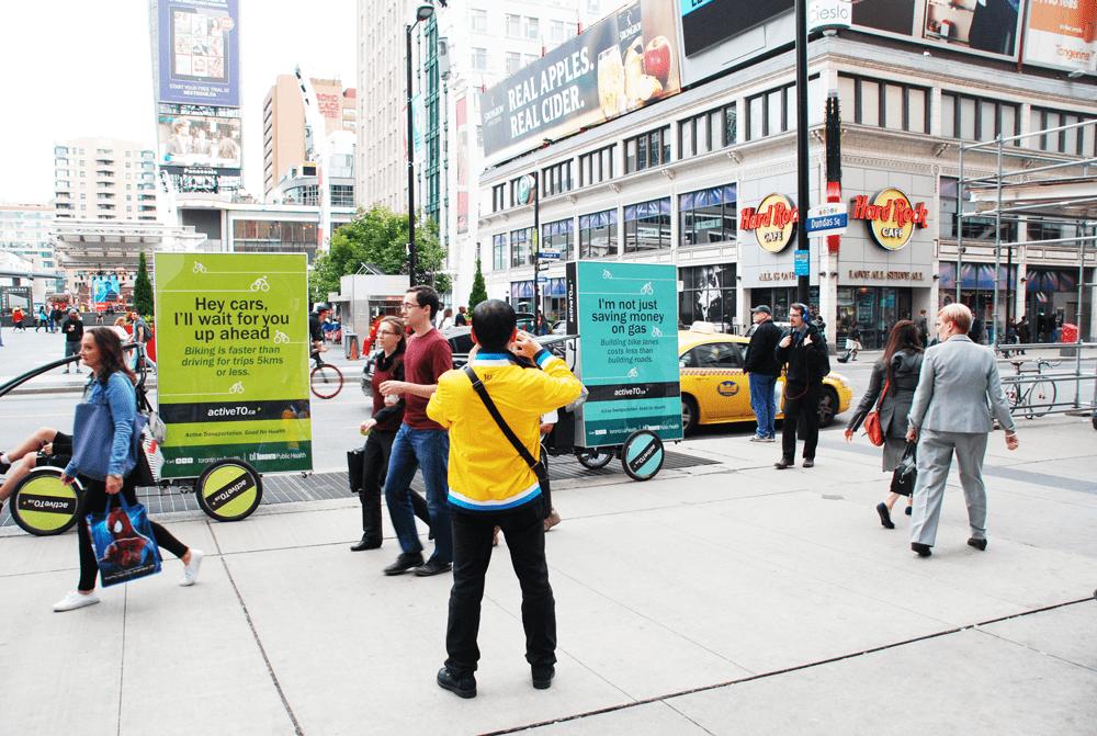 Adbikes: City of Toronto – Public Health