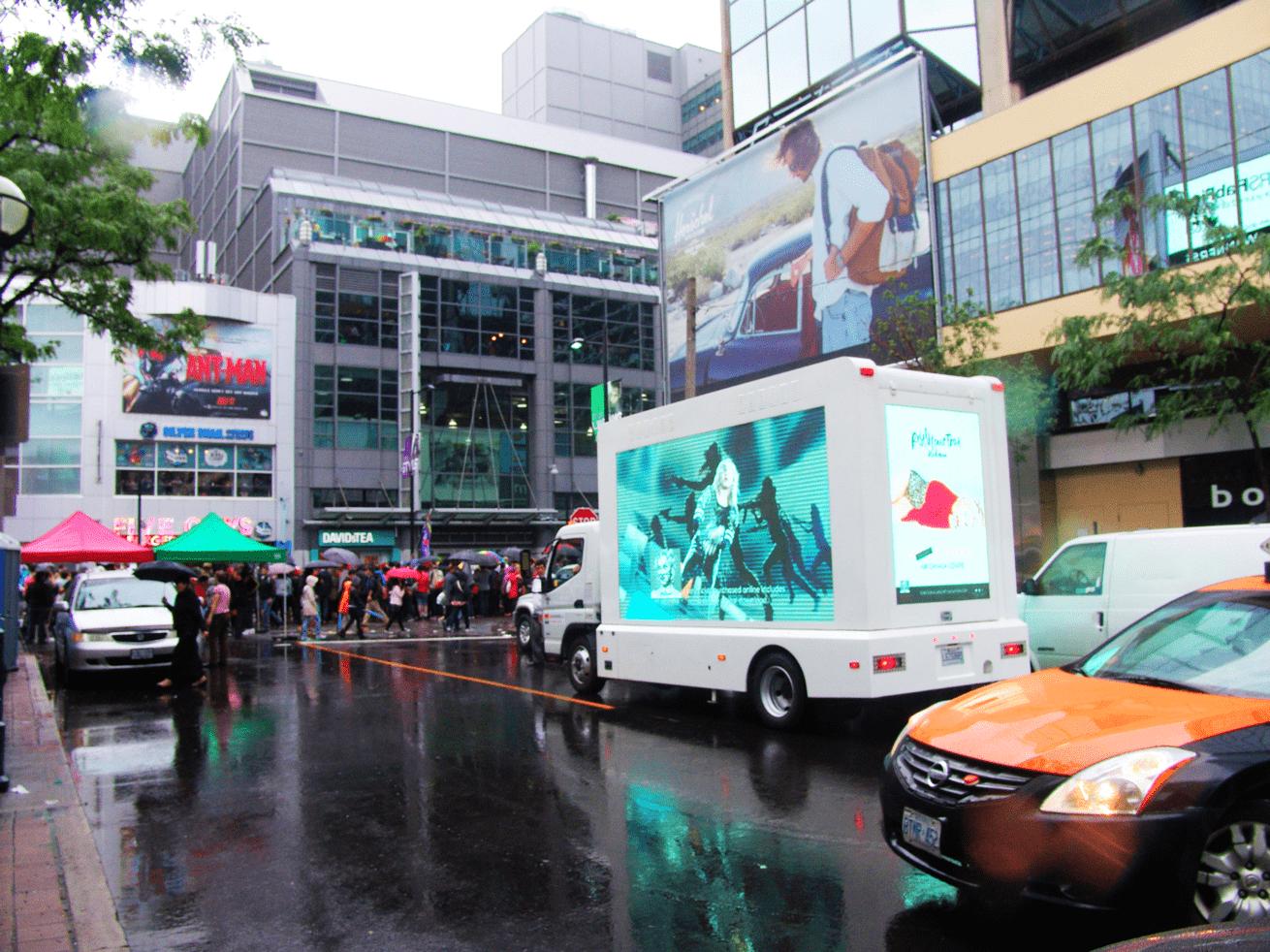Digital Ad Truck: Live Nation