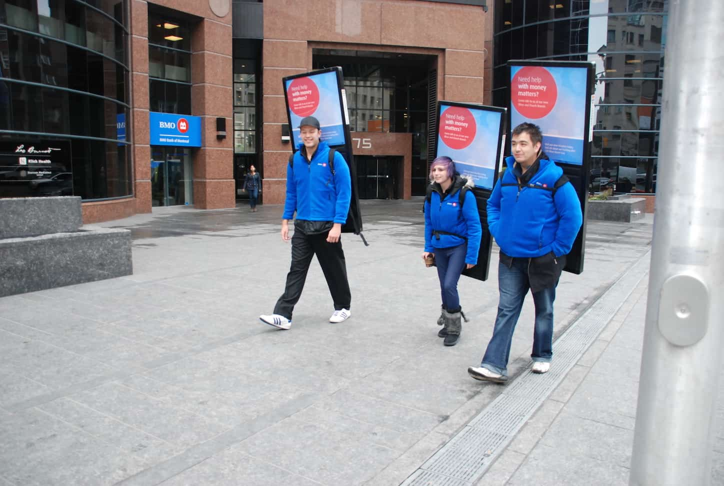 Walking Billboards company Vancouver