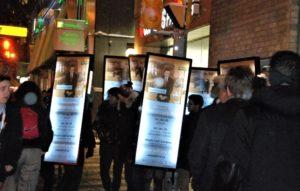 Walking Billboards for awareness campaign