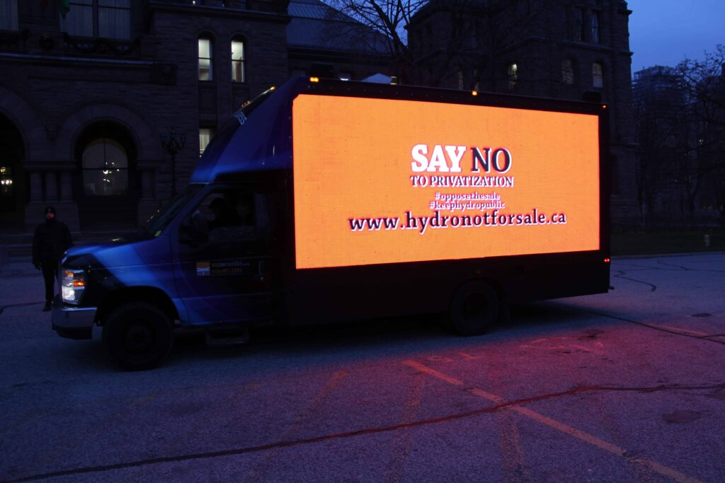 Digital Video Truck Ads company in Vancouver