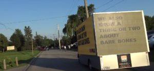 Branding display truck