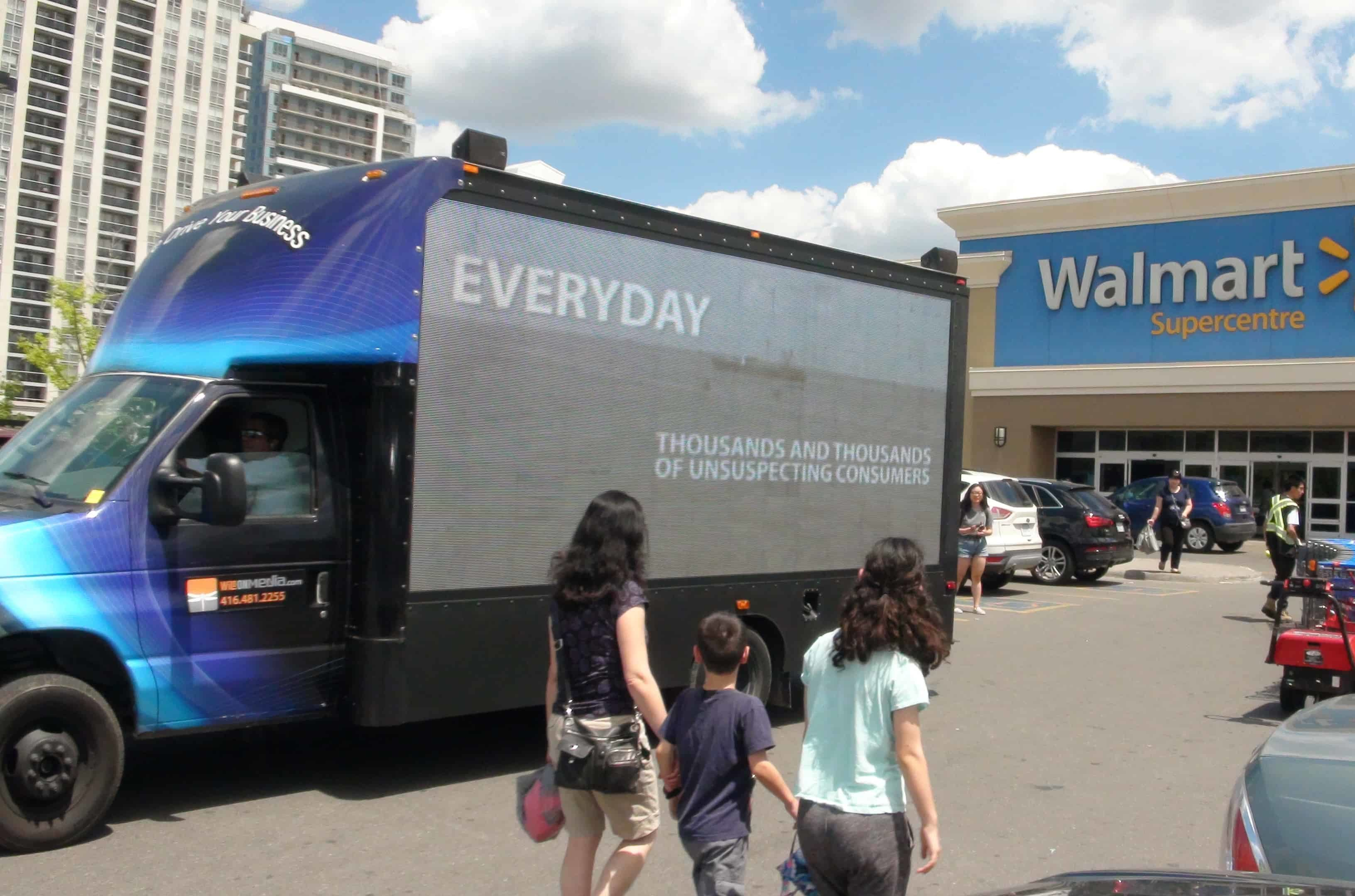 Truck advertising agency