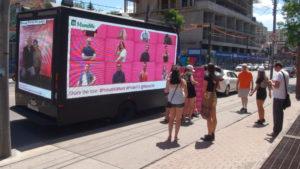 Billboard Trucks for short events