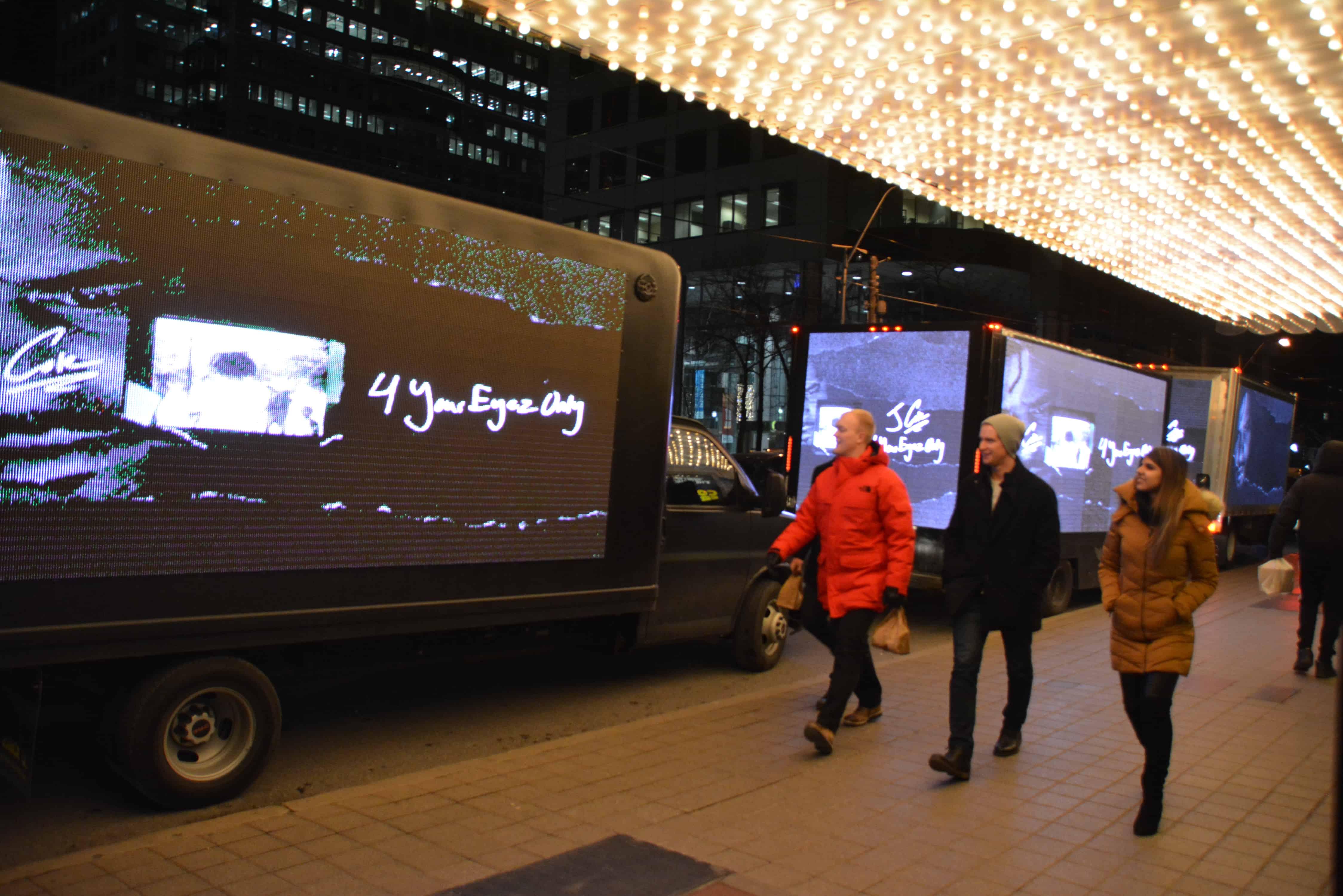 Digital video mobile billboards