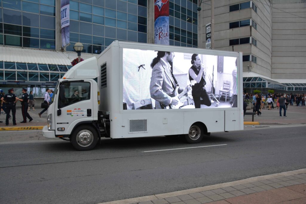 Led display ad trucks