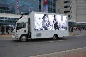 Led display ad trucks