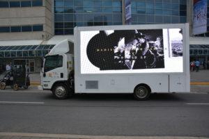 Led display trucks