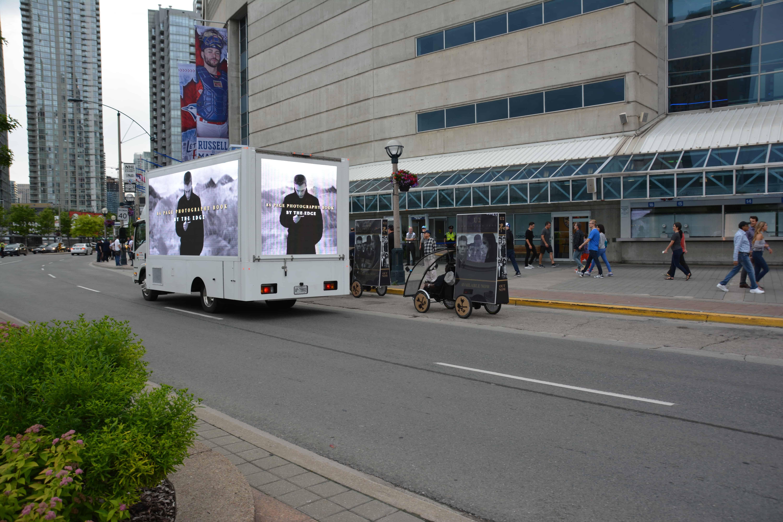 Led digital display trucks