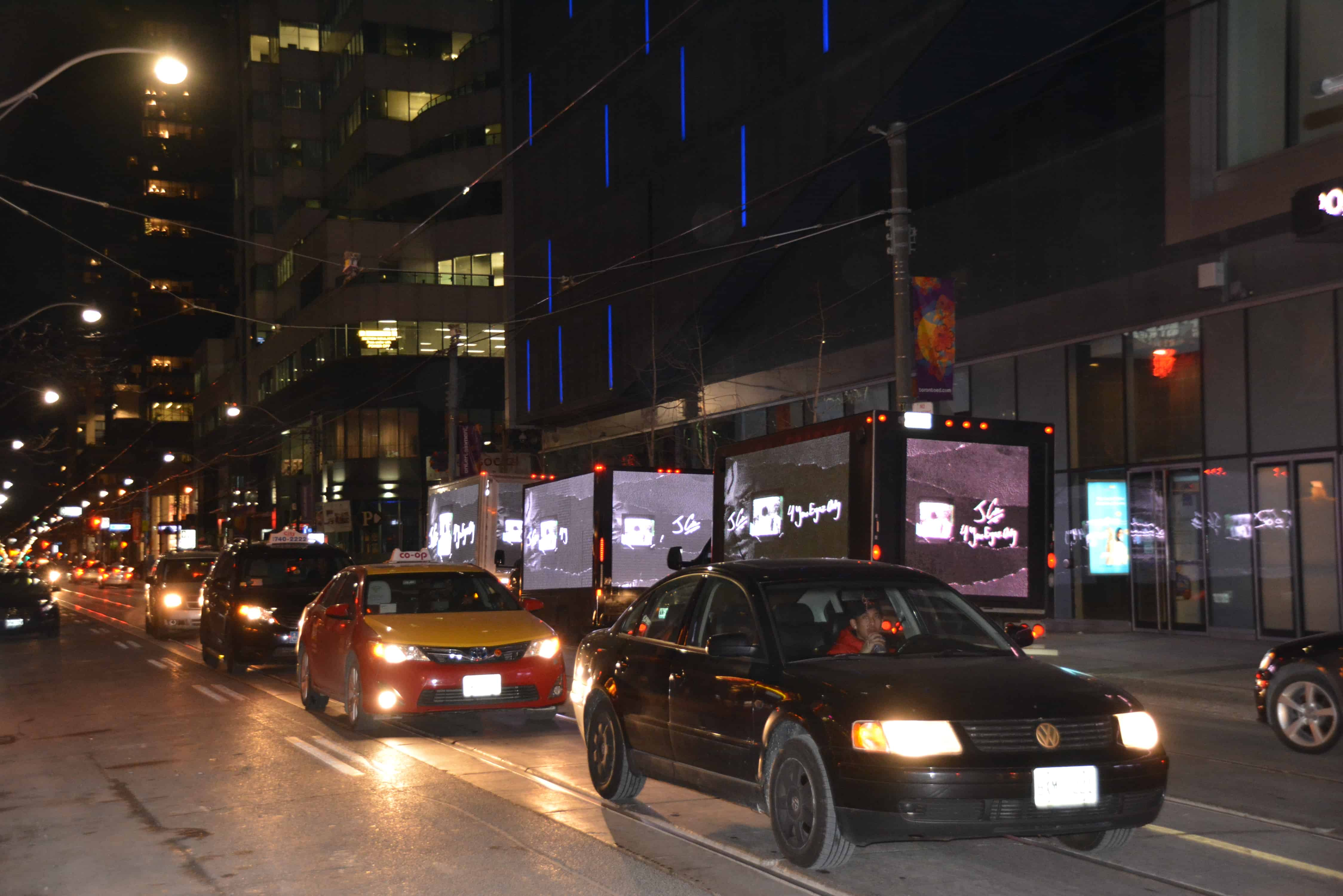 Video Trucks on rent
