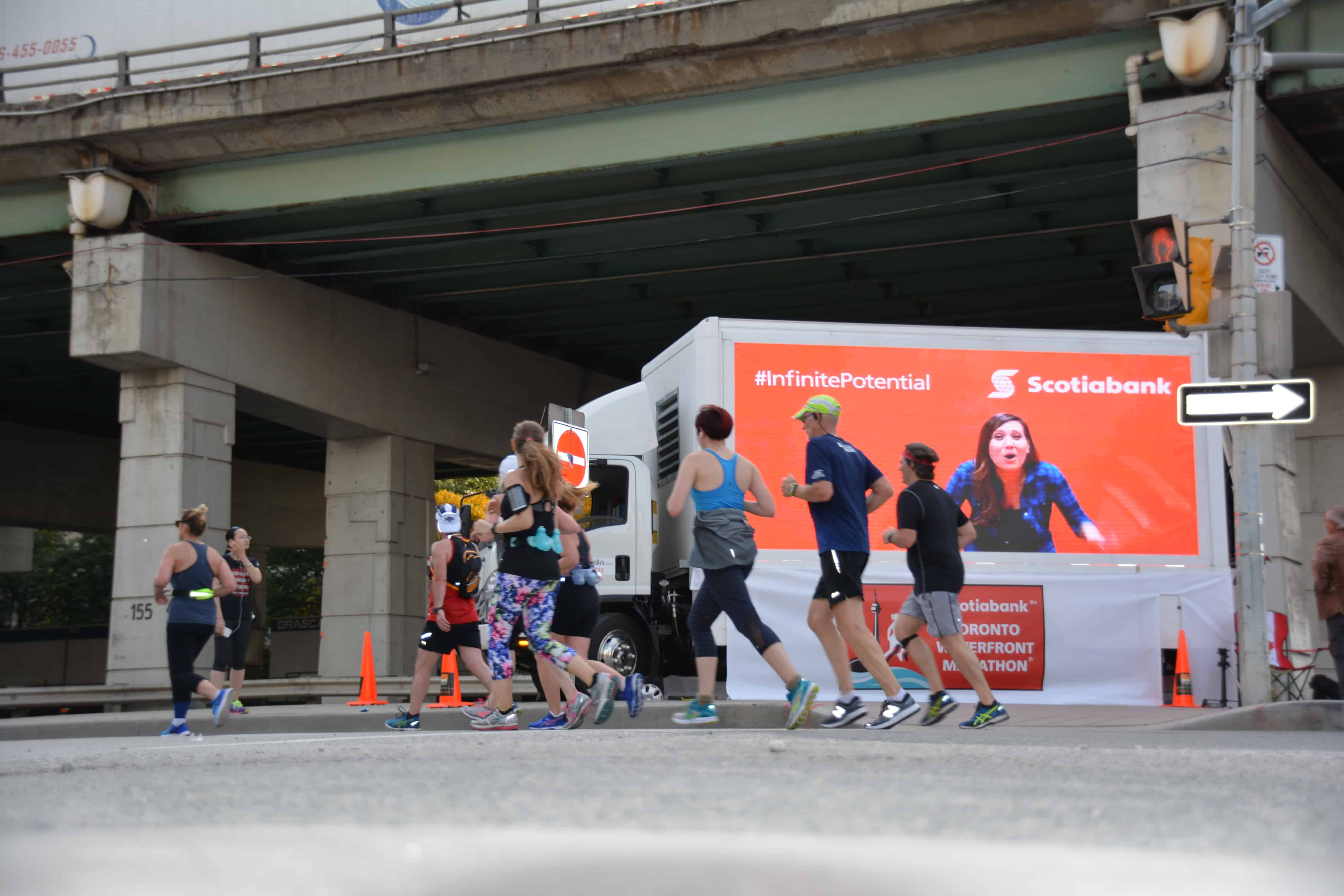 Mobile billboard trucks for event and advertising