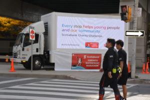 Mobile billboard advertising trucks