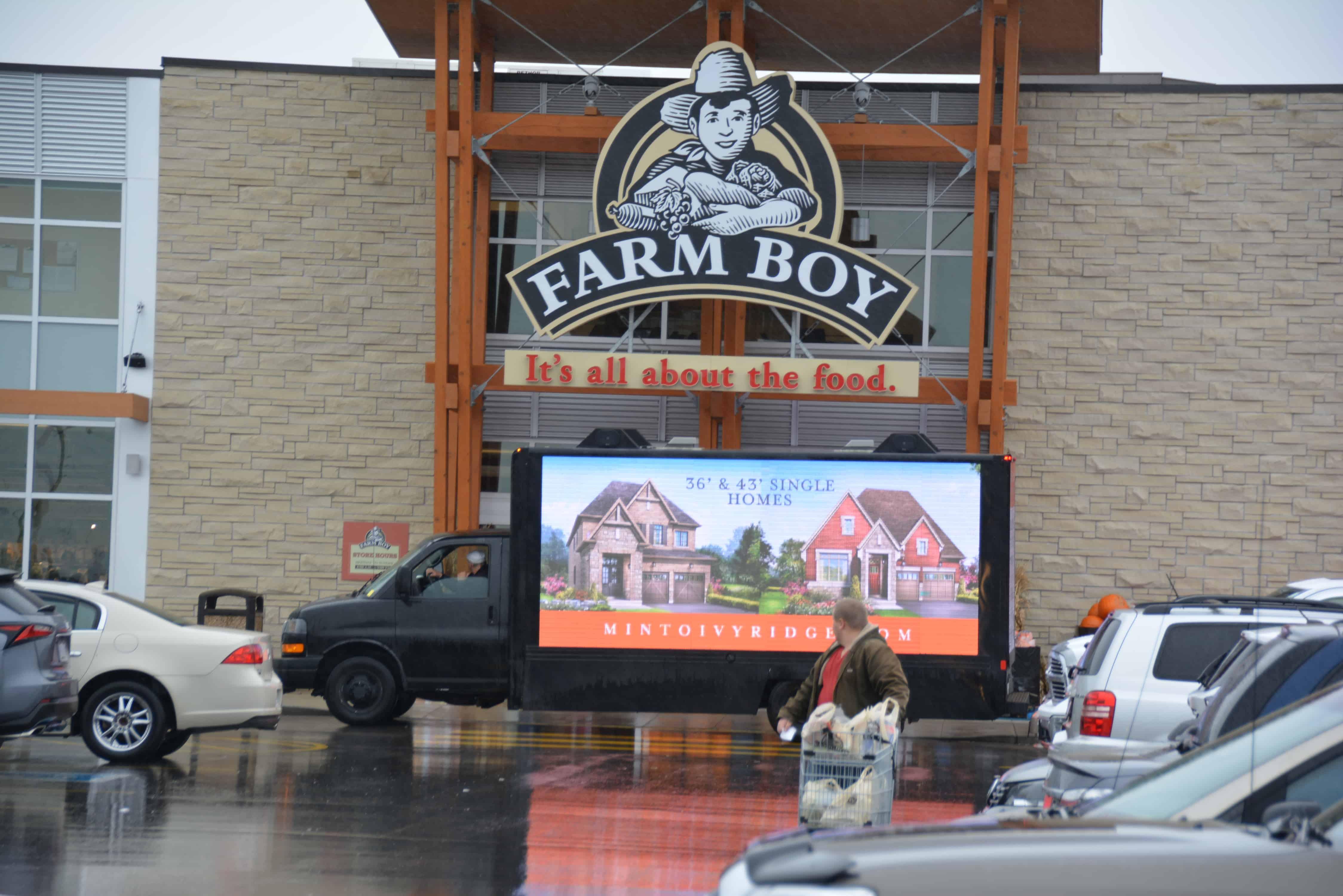 LED Billboards for truck ads