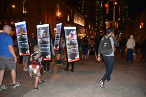 LED Walking Billboards