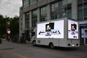 Mobile Display Moving Truck