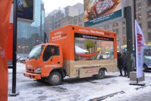 Billboard Glass Trucks for city Advertising