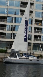 Sail ad for Pier 27