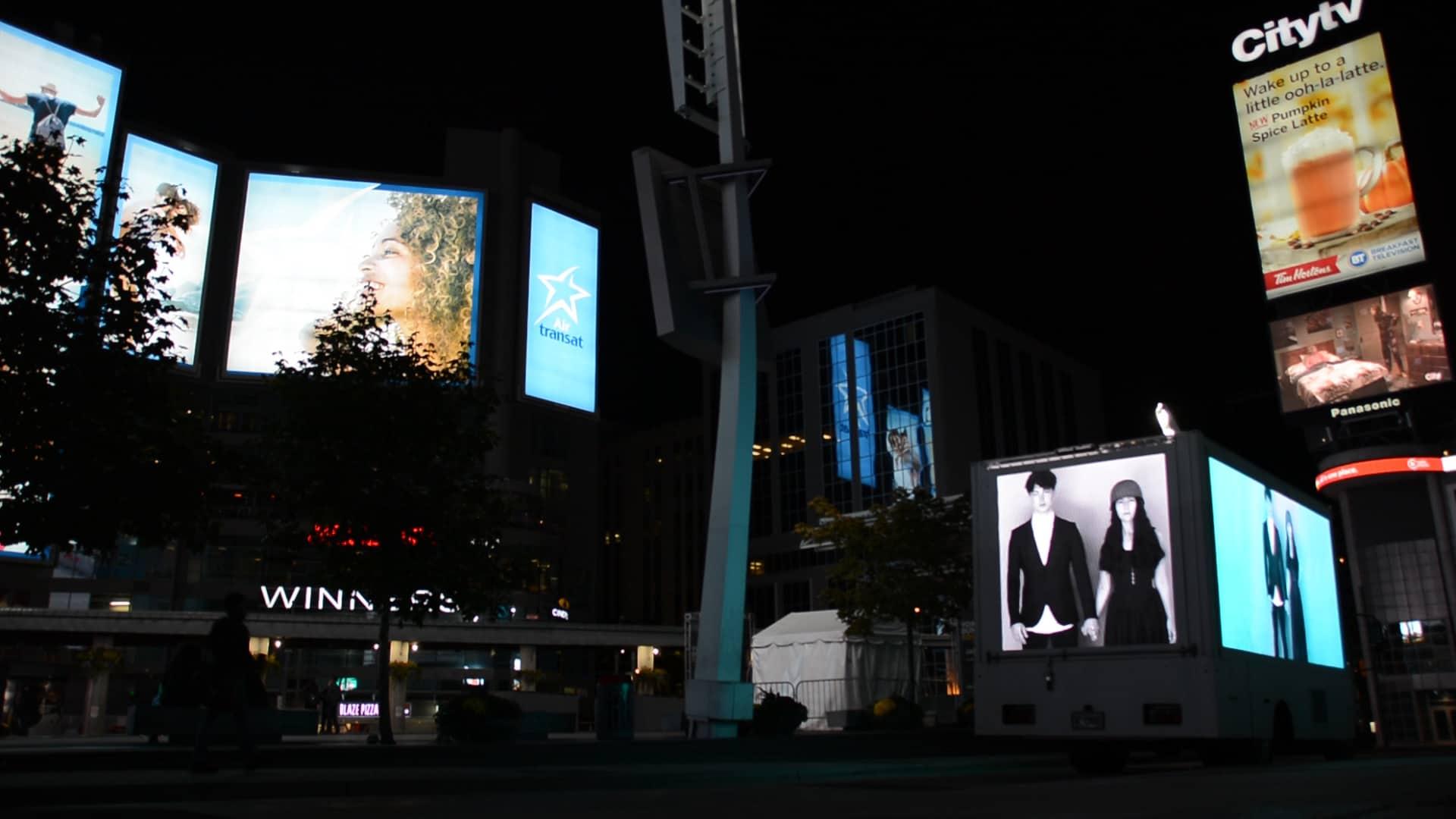 Video Display ad Trucks