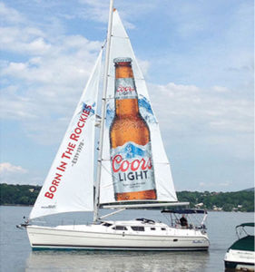 Best Sailboat ads for Coors Light TORONTO