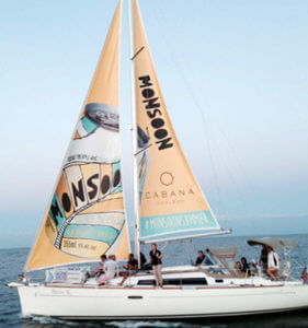 Top Sailboat ad for Monsoon beverage TORONTO