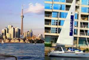The Sailboat ad for Pier CANADA TORONTO