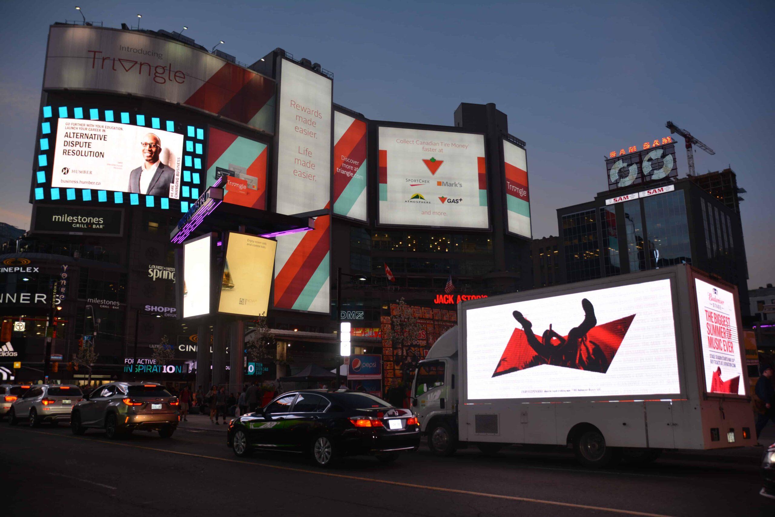 Outdoor advertising Toronto