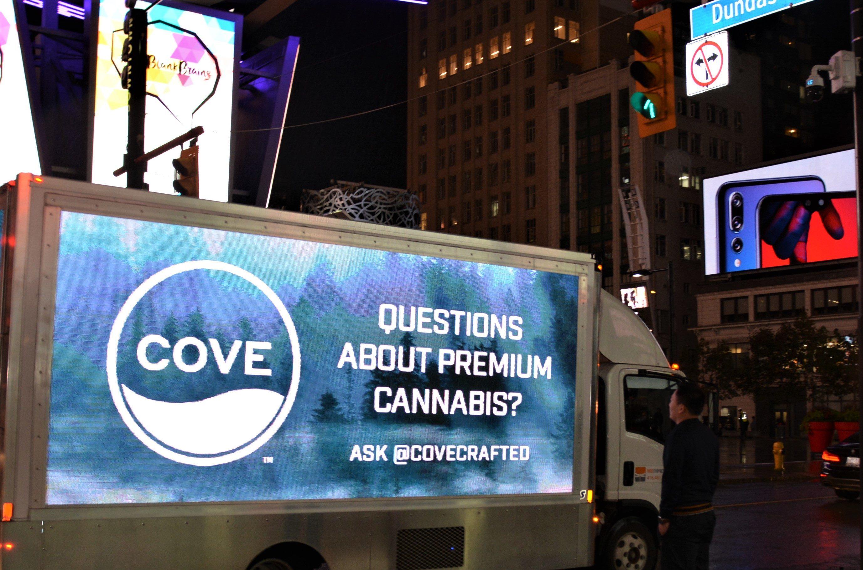Cronos Digital Truck - LED Video Truck in Toronto