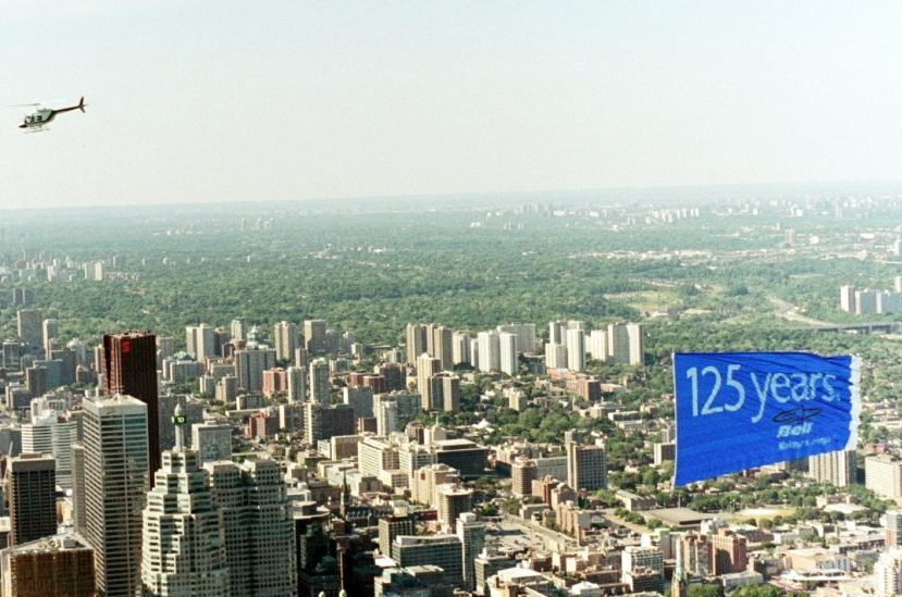 Cosette - Aerial Advertising Bell Canada