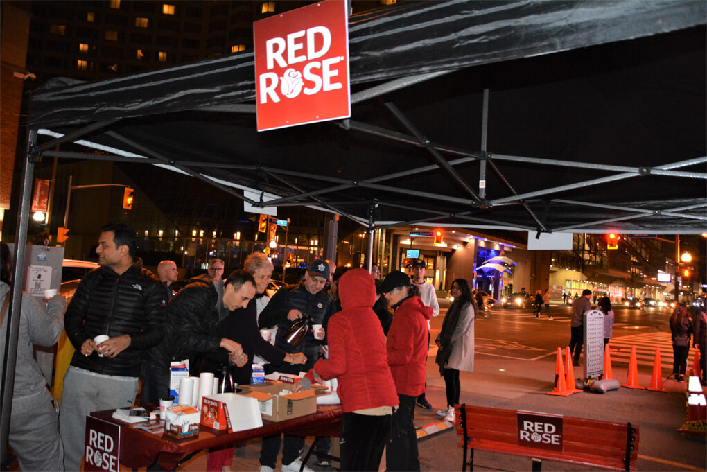 Experiential marketing for Red Rose Tea