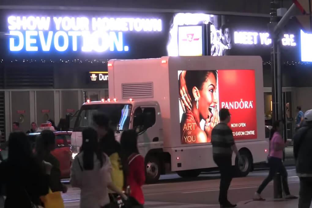 Wildonmedia Digital Ad Truck service