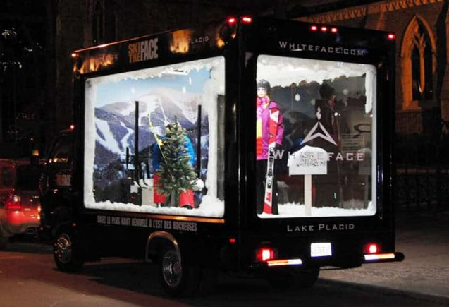 Glass Truck for Advertising in Canada