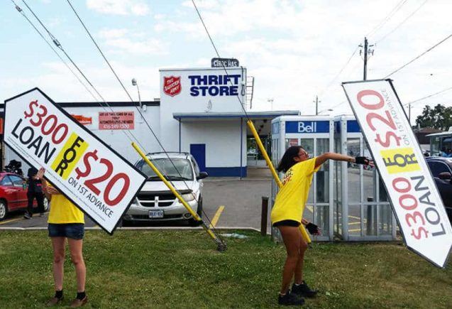 Human Billboard & Directional Signs: Sign Spinners