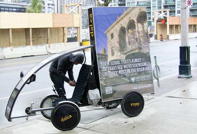 Eco-Friendly Adbikes & Bicycle Billboards