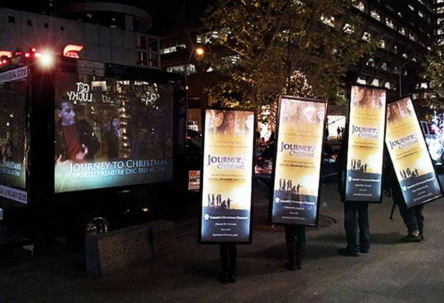 Walking Billboards