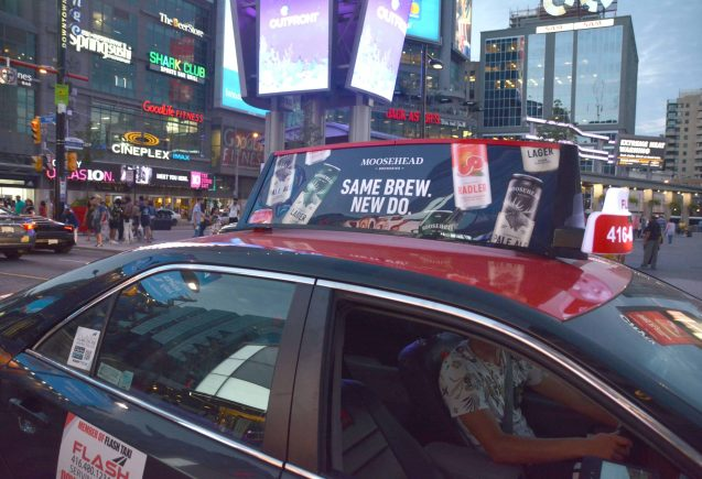 Moosehead Taxi Top