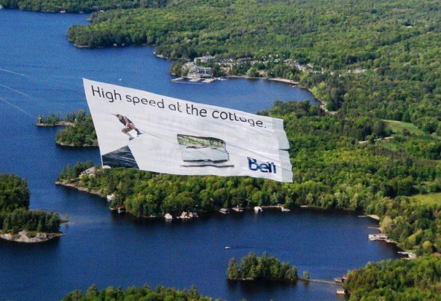 Skylines Aerial Banner Advertising